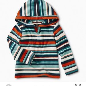 Tea Collection Striped Hoodie 12-18 month
